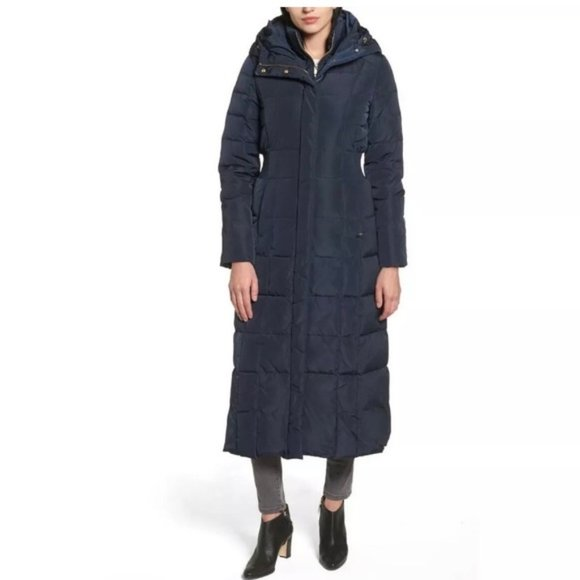 Cole Haan Signature Water Repellent Quilted Coat
